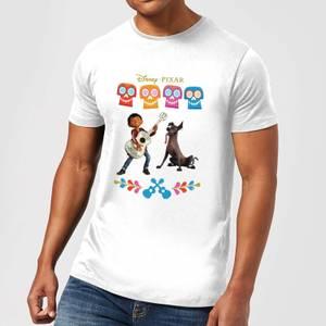 T-Shirt Homme Miguel et Logo Coco - Blanc