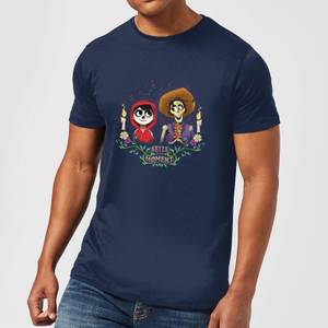 Coco Miguel And Hector Men's T-Shirt - Navy
