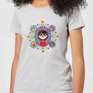 T-Shirt Femme Remember Me Coco - Gris