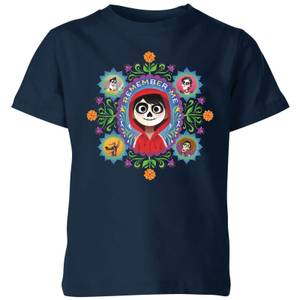 Coco Remember Me Kids' T-Shirt - Navy