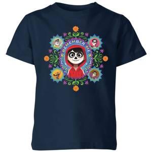 T-Shirt Enfant Remember Me Coco - Bleu Marine