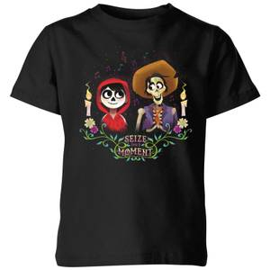 Coco Miguel And Hector Kids' T-Shirt - Black