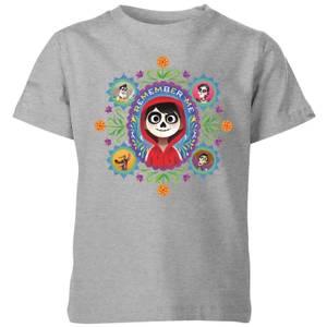 T-Shirt Enfant Remember Me Coco - Gris