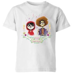 T-Shirt Enfant Miguel et Hector Coco - Blanc