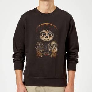Coco Miguel Face Poster Sweatshirt - Black