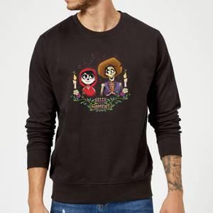 Coco Miguel And Hector Sweatshirt - Black