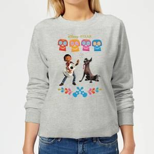 Disney Coco Miguel Logo Women's Sweatshirt - Grey