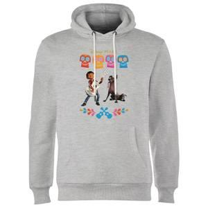 Coco Miguel Logo Hoodie - Grey