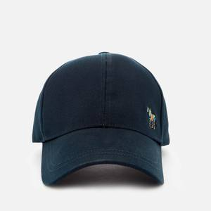 PS Paul Smith Men's Zebra Logo Baseball Cap - Navy