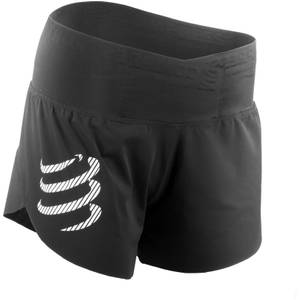 Compressport Women's Racing Over Shorts - Black
