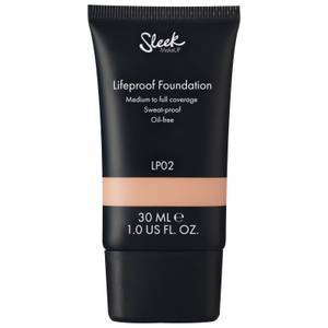 Sleek MakeUP Lifeproof Foundation 30 ml (forskellige nuancer)