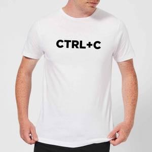 CTRL C Men's T-Shirt - White