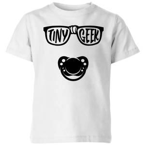 My Little Rascal Tiny Geek Kids' T-Shirt - White
