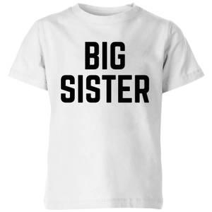 My Little Rascal Big Sister Kids' T-Shirt - White