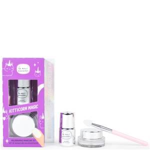 Le Mini Macaron Kitticorn Magic Holographic Manicure Set