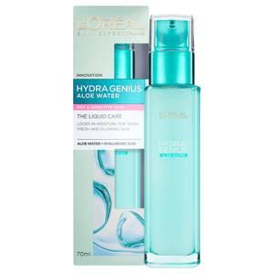 Cuidado Líquido Hidratante para Pele Sensível Hydragenius da L'Oreal Paris 70 ml
