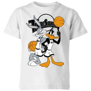 Space Jam Bugs And Daffy Tune Squad Kids' T-Shirt - White