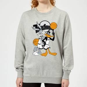Space Jam Bugs And Daffy Tune Squad Women's Sweatshirt - Grey