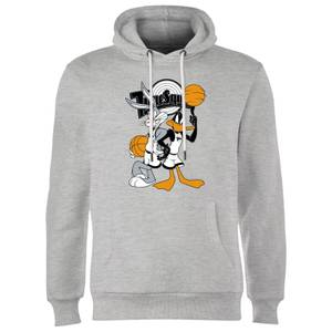 Space Jam Bugs And Daffy Tune Squad Hoodie - Grey