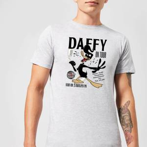Looney Tunes Daffy Concert Men's T-Shirt - Grey