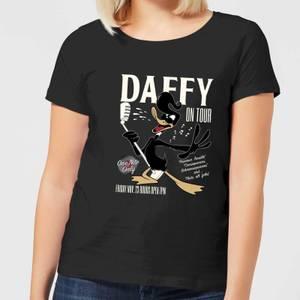 Looney Tunes Daffy Concert Women's T-Shirt - Black