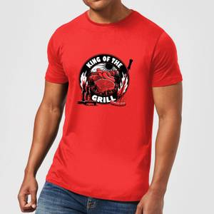 King Of The Grill Men's T-Shirt - Red