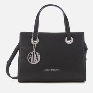 Armani Exchange Women's Angie Small Tote Bag - Black
