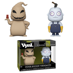 Disney The Nightmare Before Christmas Oogie Boogie and Behemoth Funko Vynl.