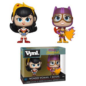 Wonder Woman & Batgirl Funko Vynl.