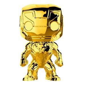 Marvel - Iron Man Oro Cromato Figura Pop! Vinyl