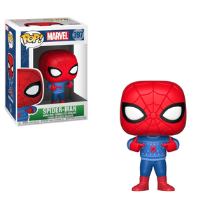 Marvel Holiday - Spider-Man with Ugly Sweater Funko Pop! Vinyl