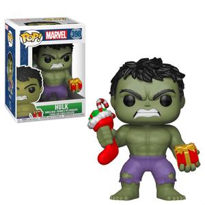 Marvel Holiday - Hulk with Stocking & Plush Pop! Vinyl Figur