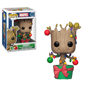 Marvel Holiday - Groot with Lights & Ornaments Funko Pop! Vinyl