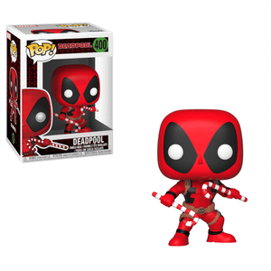 Marvel Holiday - Deadpool with Candy Canes Funko Pop! Vinyl