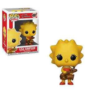 The Simpsons - Lisa-Saxophone Pop! Vinyl Figur