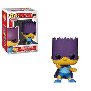 The Simpsons - Bart-Bartman Pop! Vinyl Figur