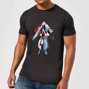 Assassin's Creed Animus Split Men's T-Shirt - Black