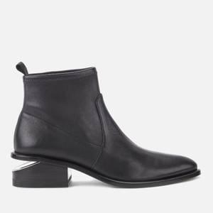 Alexander Wang Women's Kori Stretch Flat Ankle Boots - Black