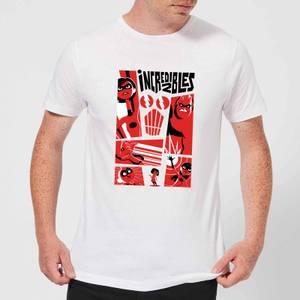 Camiseta Los Increíbles 2 Póster - Hombre - Blanco