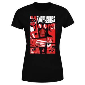 T-Shirt Femme Les Indestructibles 2 - Affiche - Noir