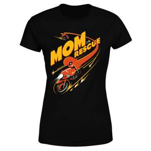 The Incredibles 2 Mom To The Rescue Dames T-shirt - Zwart