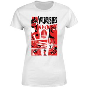 The Incredibles 2 Poster Dames T-shirt - Wit
