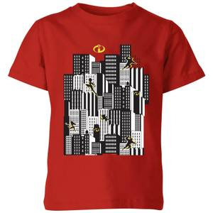 The Incredibles 2 Skyline Kids T-shirt - Rood