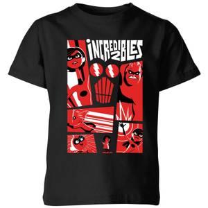 Camiseta Los Increíbles 2 Póster - Niño - Negro