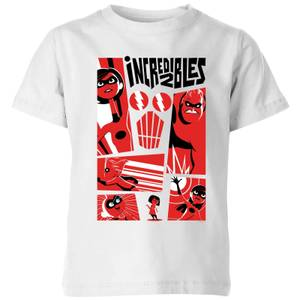 The Incredibles 2 Poster Kids' T-Shirt - White