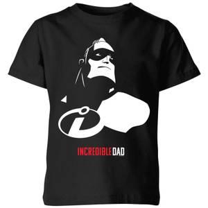 T-Shirt Enfant Les Indestructibles 2 - Papa Indestructible - Noir