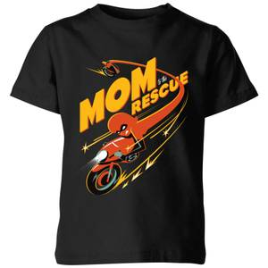 The Incredibles 2 Mom To The Rescue Kids' T-Shirt - Black