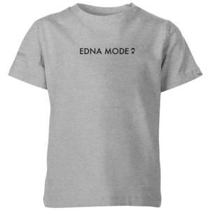 Camiseta Los Increíbles 2 Edna Moda - Niño - Gris
