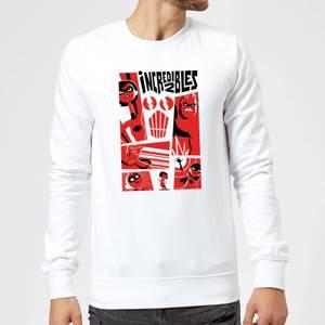 Sweat Homme Les Indestructibles 2 - Affiche - Blanc