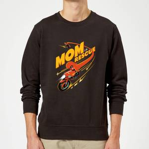 The Incredibles 2 Mom To The Rescue Sweatshirt - Black
